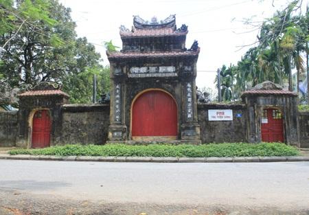 Cổng phủ Tùng Thiện Vương Miên Thẩm