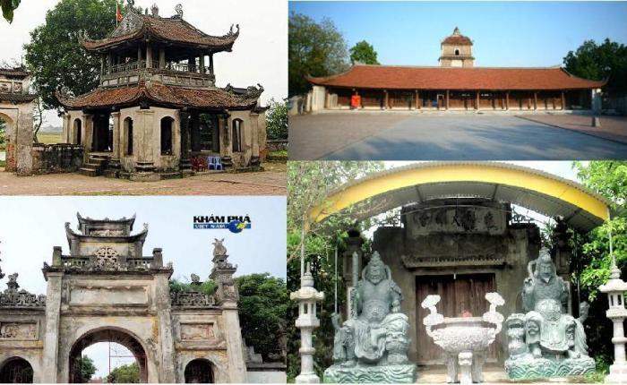 Bộ bốn chùa của thành cổ Luy Lâu